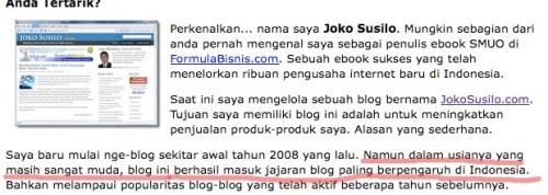 Salah satu blog paling berpengaruh di Indonesia?