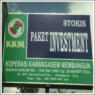 Baliho Koperasi KarangAsem